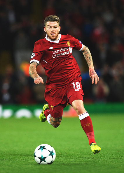 Moreno in action for Liverpool ( Photos via Liverpool FC)