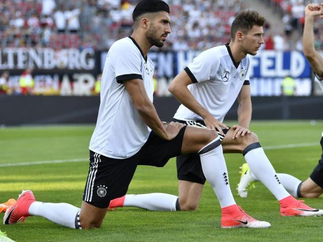 10 06 2017 Fussball WM Qualifikation Länderspiel Deutschland San Marino Emre Can 14