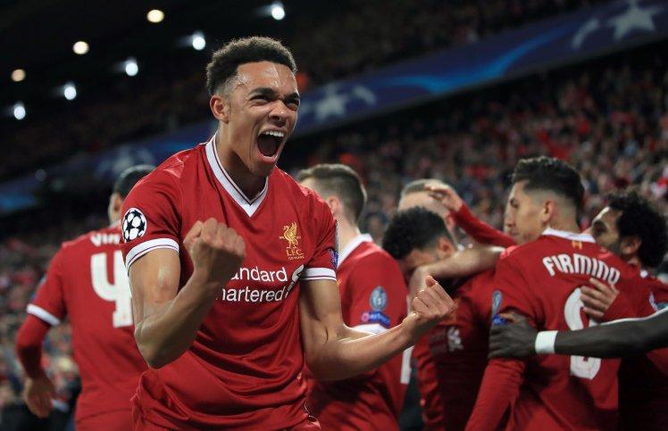 Liverpool v Manchester City - UEFA Champions League - Quarter Final - First Leg - Anfield